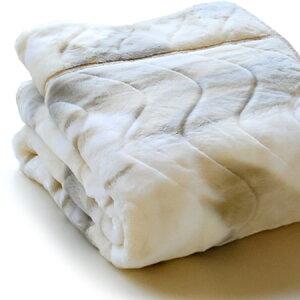 オーロラ調ボリューム毛布ウォッシャブルシングルサイズ