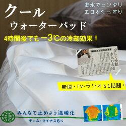 □水のお布団でひんやりクールウォーターパッドレギュラーサイズ95×83cm【いんてSALE】