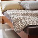 マイクロファイバー敷きパッド セミダブル マイクロファイバー敷きパッド スーパーふんわり ゆめごこちのマイクロファイバー 敷パッド 極細繊維マイクロファイバーなめらかな風合い セラミック加工の遠赤綿 増量タイプ ウオッシャブル 洗濯可 暖か 敷き毛布
