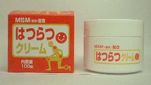 MSM・グルコサミン・コンドロイチン・ヒアルロン酸・コラーゲン配合【はつらつクリーム】税込