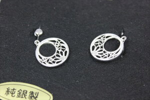 竹谷本店 イヤリング 月の輪