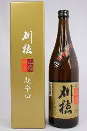 秋田清酒 刈穂 山廃純米超辛口 720ml