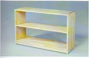 白木棚<小>背板なし