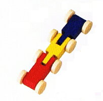 トレインカースロープ・ベック社用2両トレイン(カラー)