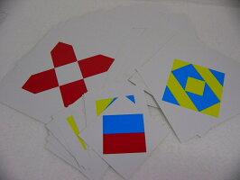 ニキーチン積木・模様作り(小)カード