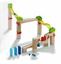 知育玩具ベビークーゲルバーン・スイッチトラック【送料無料】積み木玉の道お誕生日HABA社