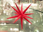 赤い星・立体・大 ドイツ クリスマスオーナメント エルツ ザイフェン ニキティキ