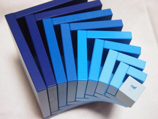 ネフ社 セラ 青 木箱+パターンブック付き 積み木