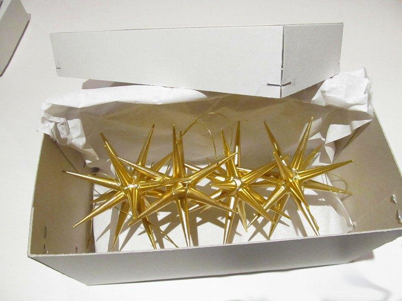 【今すぐクーポンが使える】ベツレヘムの星(大)オーナメント ドイツ製【正規輸入品】【送料無料】木製 (4個セット)エルツ ザイフェン アルビン・プライスラー クリスマスツリーオーナメント ドイツ ニキティキ
