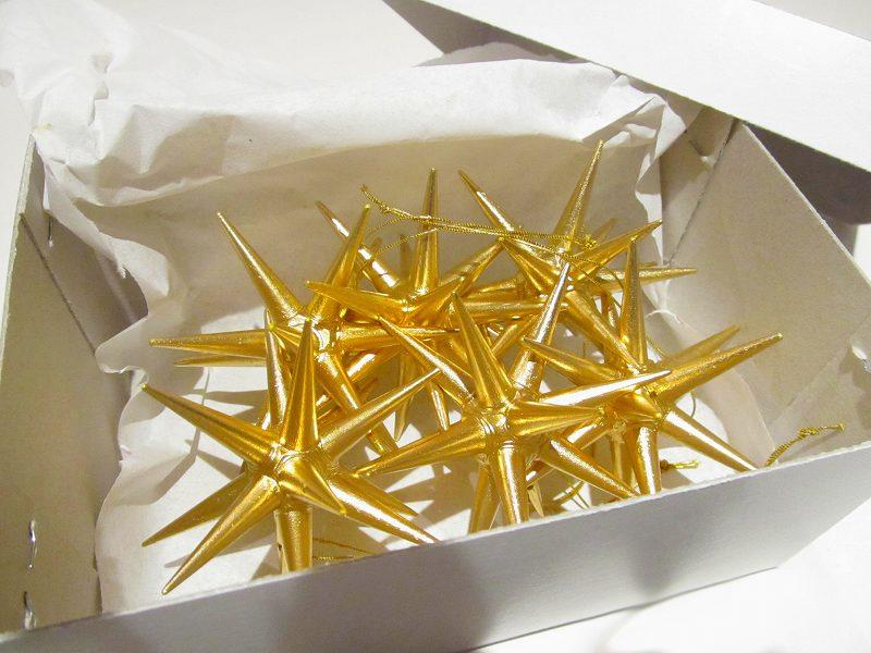 【今すぐクーポンが使える】ベツレヘムの星(小)オーナメント 木製 (6個セット)【正規輸入品】【送料無料】エルツ ザイフェン  アルビン・プライスラー クリスマスツリーオーナメント ドイツ ニキティキ