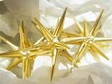 金の星・小 3個セット 箱入り ベツレヘムの星 クリスマス オーナネント ドイツエルツ