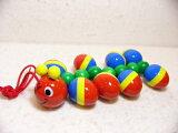 WALTERむかで ラッピング無料(NIC社製)ご出産祝い ベビートイ 引っぱるおもちゃ