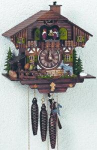 シュナイダー社仕掛け時計(カッコー時計)ブレーメンの音楽隊