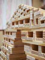 【あす楽対応】カプラ200(KAPLA)小冊子とカラーカプラ2枚付き【送料無料】ラッピング無料積み木木のおもちゃギフトお祝いカプラの魔法KAPLA魔法の板