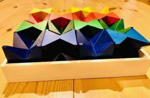 クリスマス特別割引【オリジナル国産木箱付き】ネフスピール正規輸入品(Naef-Spiel)ネフ社積み木2歳3歳出産祝いギフトラッピング無料4歳おもちゃ積み木