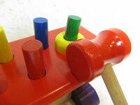 ハンマートイNIC大工さん【あす楽対応】【送料無料】NC64423木のおもちゃ【楽ギフ_包装】【楽ギフ_メッセ入力】【楽ギフ_のし宛書】知育玩具