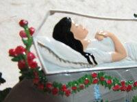 【ポイントアップマラソン期間中ポイント10倍】錫スタンドウィルヘルム・シュヴァイツアー白雪姫(眠る白雪姫)