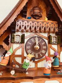 シュナイダー社仕掛け時計(カッコー時計)白雪姫と7人の小人(Waldモデル)
