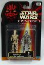 STARWARSスターウォーズエピソード1ベーシックフィギュアC-3PO With バトルドロイド
