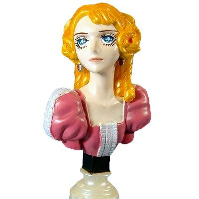 【中古】 フルタ 池田理代子の世界 ベルサイユのバラ マリー・アントワネット(胸像)画像