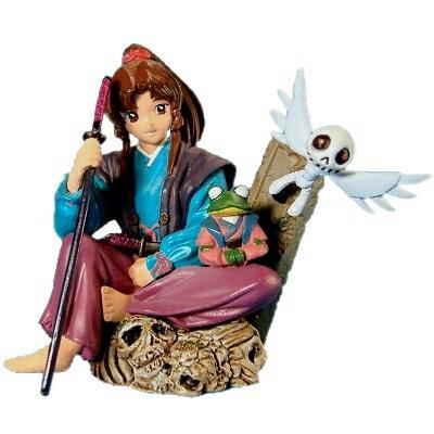 【中古】 海洋堂 月刊アフタヌーン付録フィギュア 幻蔵人形鬼話 鬼九姫