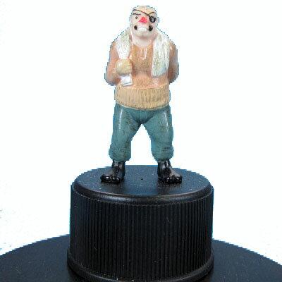 【中古】 ラナ ジョー&飛雄馬 Bot-Biz(ボトビッツ) 丹下段平(カラー)あしたのジョー画像