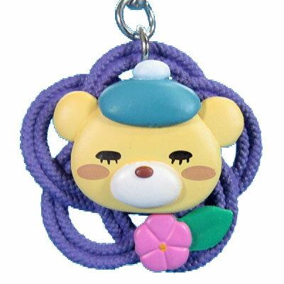 【中古】 タカラトミーアーツ 3月のライオン 結び紐根付 01.ウミノグマ結び(梅)画像