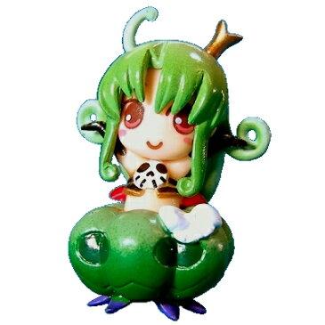 【中古】 トイ・プラ WAGA魔々かぷりちお メリッサコレクション 緑カボチャ(脱着可能)