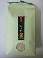 ★お試し米★こだわり特別栽培米コシヒカリ白米1kg【もりばやし農園自家栽培】