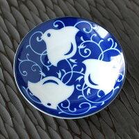 唐草千鳥30皿【小皿薬味皿珍味皿皿醤油皿受皿そばの器ちどり美濃焼日本製】