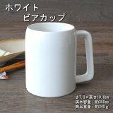 ビアカップ カップ 在庫処分品 白 和陶器 アウトレット 美濃焼 日本製 業務用にもホワイト ビアカップ