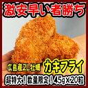【カキフライ】広島県産 特大ジャンボ カキフライ 45g×20粒 数量限定 2L カキ 牡蠣 冷凍 広島