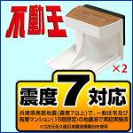 不動王ホールド(FFT-003)【家具転倒防止】対応重量1箱(2個):約115kg【即納】