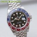 【未使用】【004】ROLEX ロレックス GMTマスター2 126710BLRO 赤/青ベゼル ステンレス 自動巻き メンズ 時計【中古】