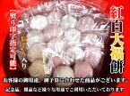 紅白大福餅2個入り  商品規格 1パック 20g2個熨斗(のし)付きお買い上げ「税込5,000円以上」送料無料 消費期限:4日(出荷日を含む)