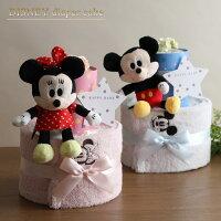 おむつケーキ出産祝いディズニー1段
