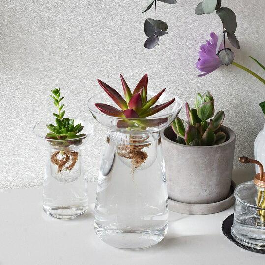 KINTO●AQUA CULTURE VASE L ●キントー アクアカルチャーベース●水耕栽培●花瓶