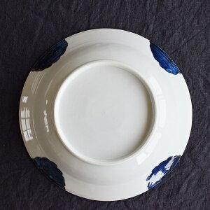九谷青窯花尽くし8寸皿φ24.5cm高原真由美
