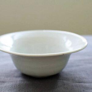 九谷青窯●白磁5寸反鉢●ボウル鉢