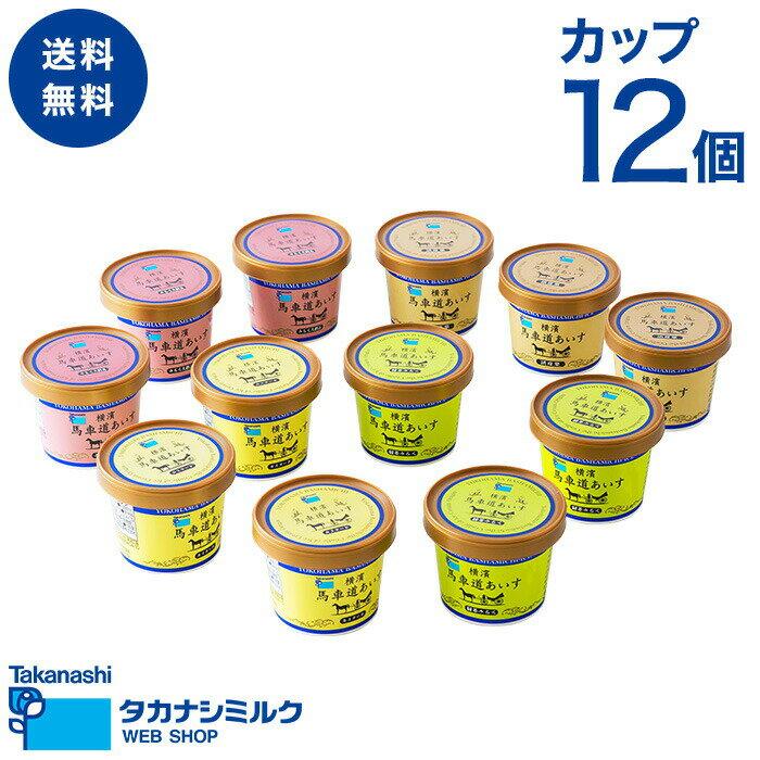 タカナシ乳業『横濱馬車道あいす12個』