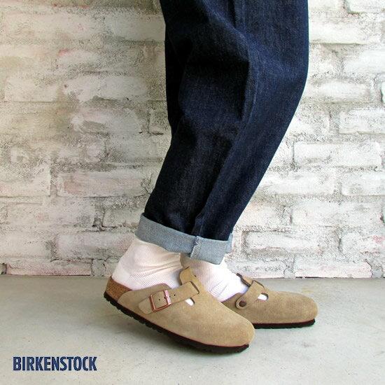 BIRKEN STOCK ビルケンシュトック レディース ボストン BOSTON スエード 060463 (ナロー幅:幅狭)*送料無料*《即日発送》【YDKG-ms】【あす楽対応】