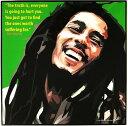 【送料無料】ポップアートパネル おしゃれな壁掛け ボブマーリー Bob Marley レゲエ ジャマイカ インテリア雑貨 キータタット・シティケット