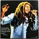 【送料無料】ポップアートパネル おしゃれな壁掛け ボブマーリー Bob Marley レゲエ ジャマイカ クラブハウス バー インスタ映え インテリア雑貨 キータタット・シティケット