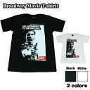 【送料無料】Broadway 映画Tシャツ コットンTシャツ ブラック ホワイト メンズ スカーフェイス Scarface アル・パチーノ アメリカ おしゃれ スケーター ストリート系 M/L/XL 大きいサイズ 半袖