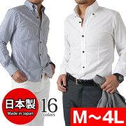 ブロードデュエ ボタンダウンシャツ トップス ビジネス カジュアル フォーマル シンプル ビビッド