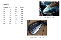 【カスタムオーダー】銀嶺(ギンレイ)マッスルバックアイアン+DIAMANATHUMP