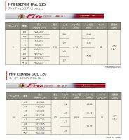 【カスタムオーダー】CG513キャビティアイアン+FireExpressDGL
