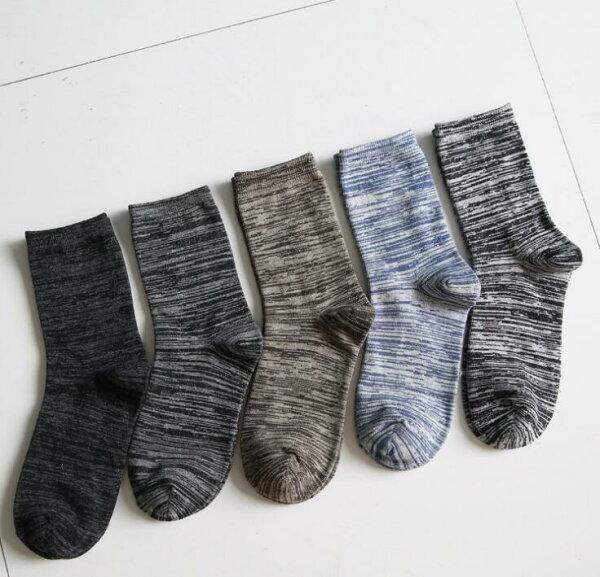 メンズソックスカラフルオシャレ5足組5カラーメンズカバー毎日を彩るソックスインナーソックスビジネスソックス通勤通学スニーカー靴下