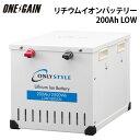 オンリースタイル リチウムイオンバッテリー 12v 2500Wh(200Ah)LOW-version SimpleBMS内蔵型式 WB-LYP200AHA12SB-LOW代引き不可 防災