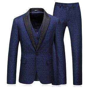 大きいサイズ メンズスーツ 3ピース スリーピーススーツ メンズ チェック 秋冬男の子 男子 かっこいいスーツ 結婚式 入学式 卒業式 二次会 パーティー カジュアル セットアップスーツ 高校生 成人式 成人の日 紳士 紳士服